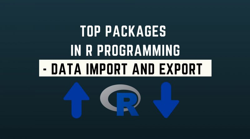 Top Packager in R - Data Import and Export