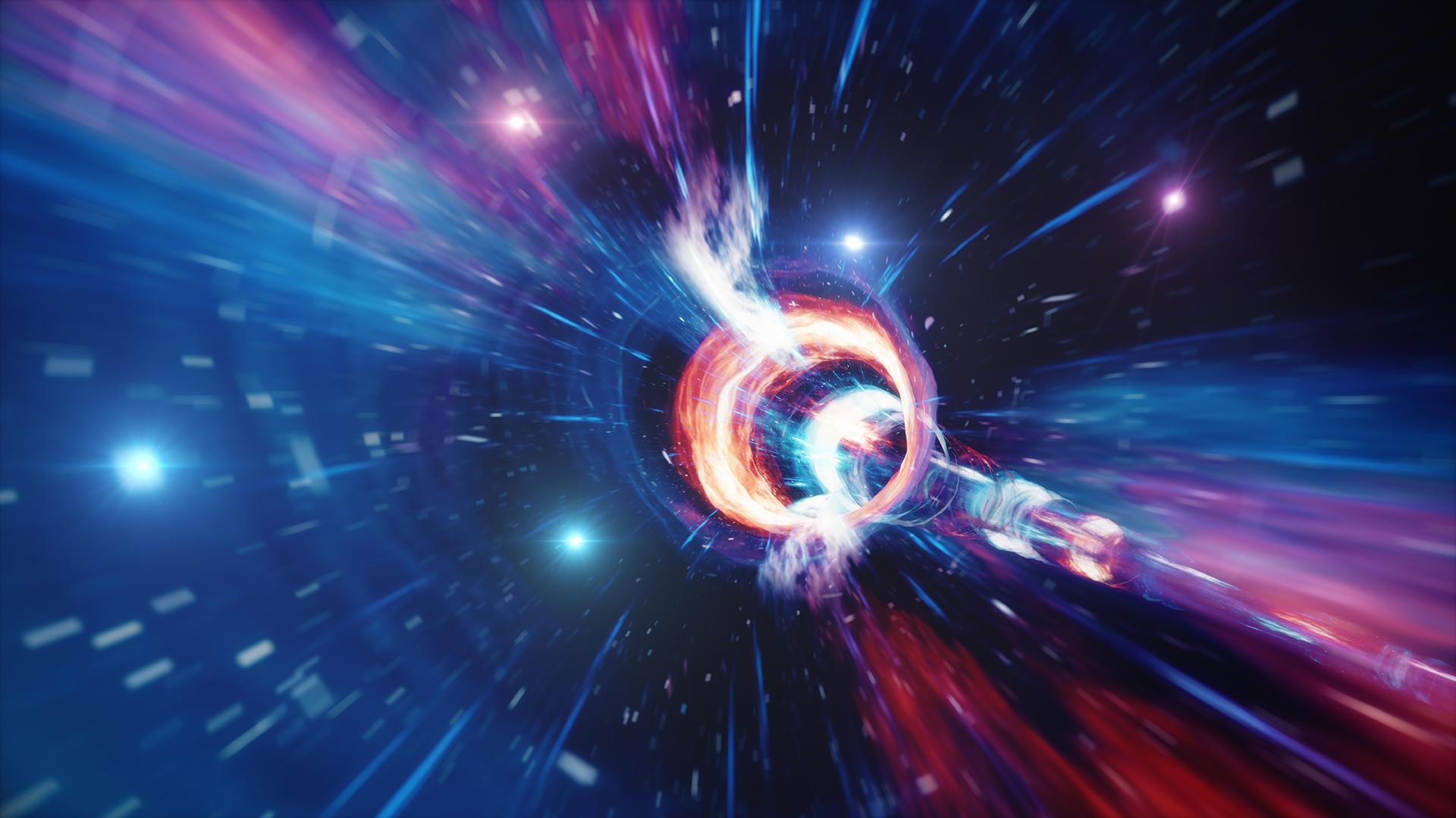 time travel using quantum computer